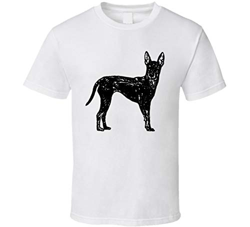 Standard Manchester Terrier Custom Dog Breed is My Homeboy T Shirt L White ()