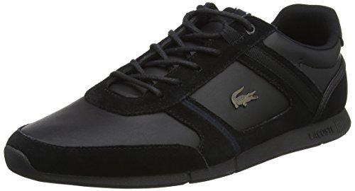 Lacoste Menerva 118 1 Cam, Sneaker Uomo Nero (Blk/Blk)