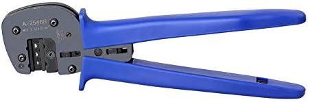 ロケータとハーティングハンD/E/Cコネクタ用圧着ペンチハンド圧着工具,黒