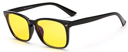 Anti Gafas Ordenador Gafas Juego Azules de el Trabajo antideslumbrante Gafas de para de Merriz Ojo protección Leopardo Anti Black Bright UV para y Rayos y 7EIwYqxp