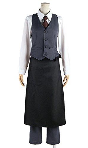 [Cosonsen Tokyo Ghoul Kaneki Ken Working Uniform Cosplay Costume All Size Custom Made (Men L)] (Sexiest Plus Size Costumes)