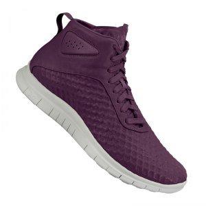 (NIKE Free Hypervenom mid Mens hi top Trainers 705496 Sneakers Shoes (US 8.5, Villain red Light Bone Poison Green 600))