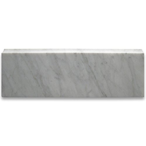 carrara white italian marble trim - 1
