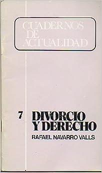 Divorcio (Colección cultural de bolsillo) (Spanish Edition)