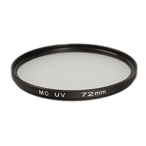 Ares Foto® Filtro di protezione UV 72mm (multicoated) per Canon EF 50mm f/1.2L USM