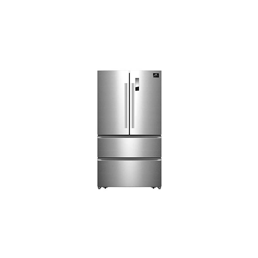 FORNO Bovino 33-Inch 19 CU. FT French Door Frost-Free Refrigerator