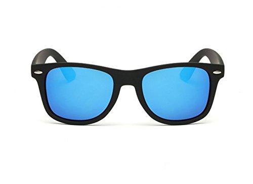 Mytree Classic Polarized Wayfarer Sunglasses (Black, Ice - White Holbrook Polarized Shaun