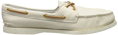Sperry Top-sider Mujer Original Authentic Two-eye Boat Zapatos Marfil