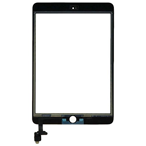 Digitizer & IC Connector (Pre-Soldered without Adhesive & No Home Button) for Apple iPad Mini 3 (Black) with Tool Kit by Wholesale Gadget Parts (Image #1)