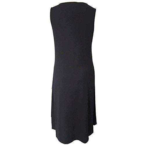 History Design Women's Color Summer Black Dress Block Hd0wqdp