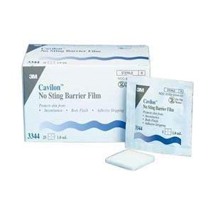 - 3M Cavilon No Sting Barrier Film, .75ml Wipes (Box of 50)