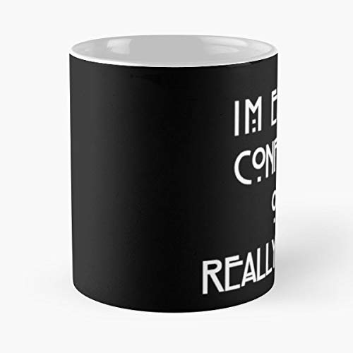 American Horror Story Font - 11 Oz Coffee Mugs Unique Ceramic Novelty Cup, The Best Gift For Halloween.]()