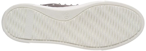 Shoe Biz Fumnaya High, Scarpe da Ginnastica Basse Donna Grigio (Nubuck Dark Grey White Sole)