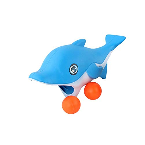 Pausseo Spit Balls Shark Popper Toys Launching Squeeze Toy Creative Toys Stress Relief -Ideal for Stress & Anxiety Relief, Special Needs, Autism,Disorders & More - Frog Good Work Holder