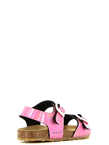 Grunland Aria filles, cuir lisse, sandales