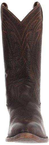 FRYE - Botas de cuero para hombre Dark Brown - 87695