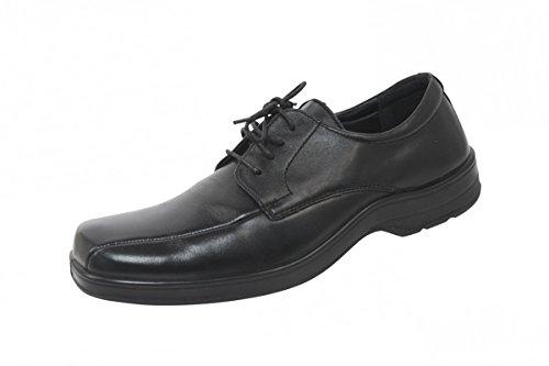 Sanita Christoph Chaussures en cuir en Aniline Noir
