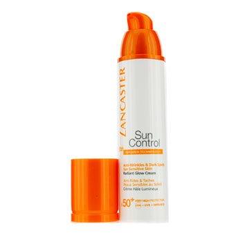 Lancaster Sun Control Face Radiant Glow Cream SPF 50+, 1.7 Ounce