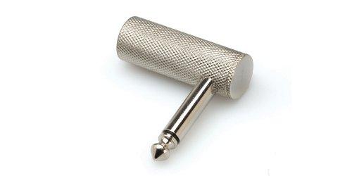 Hosa GPP-151 1/4 inch TS to 1/4 inch TS Right-Angle Adaptor