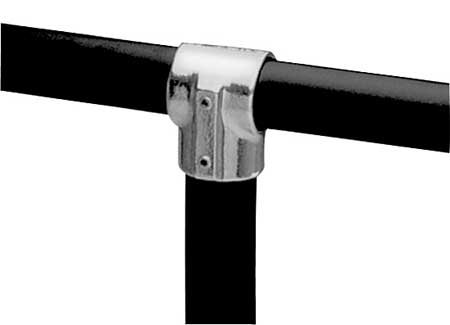 Structural Fitting, Tee, 1 In Pipe