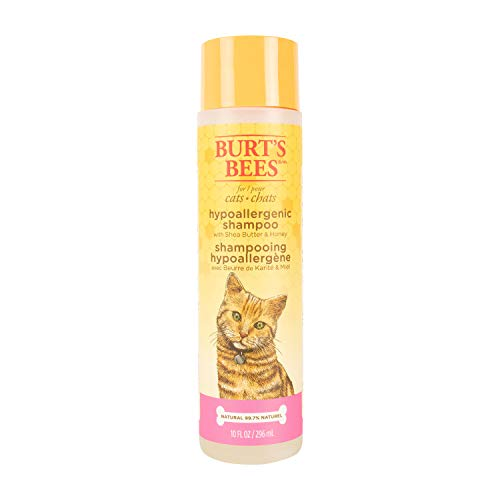 Burt's Bees for Pets Hypoallergenic Shampoo with Shea Butter and Honey | Best Shampoo For All Cats and Kittens With Sensitive Skin (FFP5766)