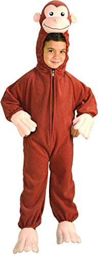 (Curious George Costume, Monkey,)