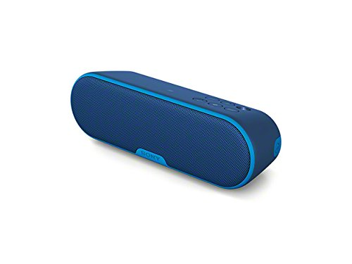 Sony SRSXB2/BLUE Portable Wireless Speaker with Bluetooth (Blue)