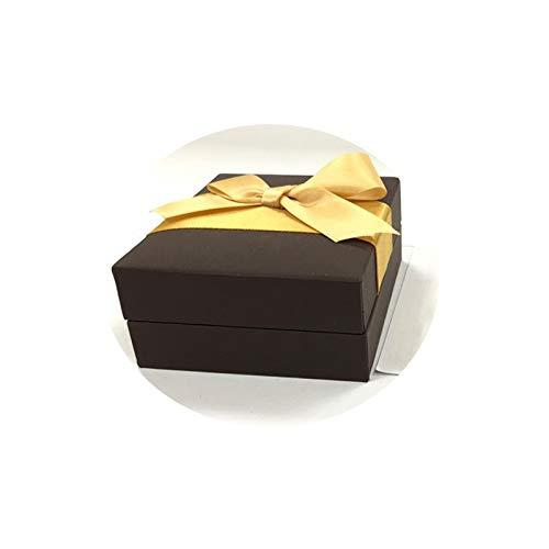 (AMDXD Jewelry Boxes Necklace Leatherette Paper Necklace Box Bracelet Box Storage)