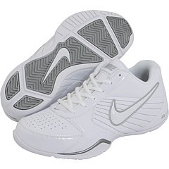 1bae4372fd14 Galleon - Nike Air Baseline Low Men Round Toe Leather Basketball Shoe  (White
