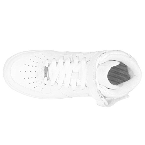 the latest aa1a2 4d3d4 NIKE AIR Force 1 MID 07 LE WMNS Women Trainers White 366731 - Import It All