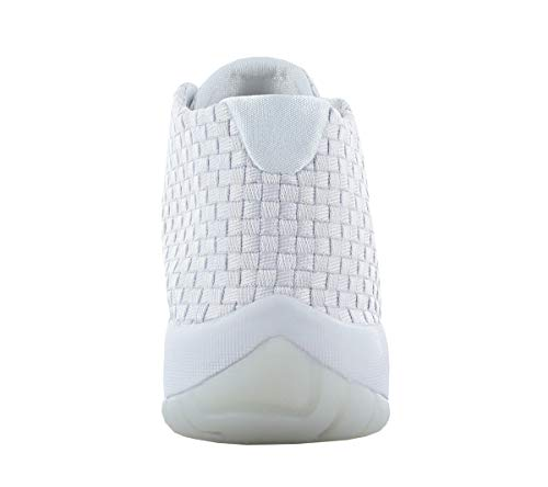 Jordan Nike Men's Air Future Pure/Platinum/Pure/Platinum Casual Shoe 9.5 Men US