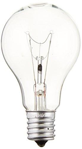 - Sylvania 16069 Incandescent 60w A15 Clear Fan Lamp Intermediate Base 120v