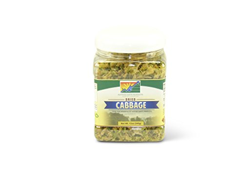 Mother Earth Products Dried Cabbage, Quart Jar, used for sale  Delivered anywhere in USA