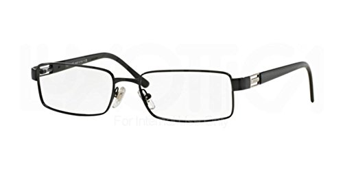 Versace Men's VE1120 Eyeglasses Black - Glasses Name Reading Brand Frames