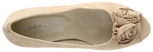 Andrea Conti 0733109, Women's Open Toe Heels Beige (Beige 003)