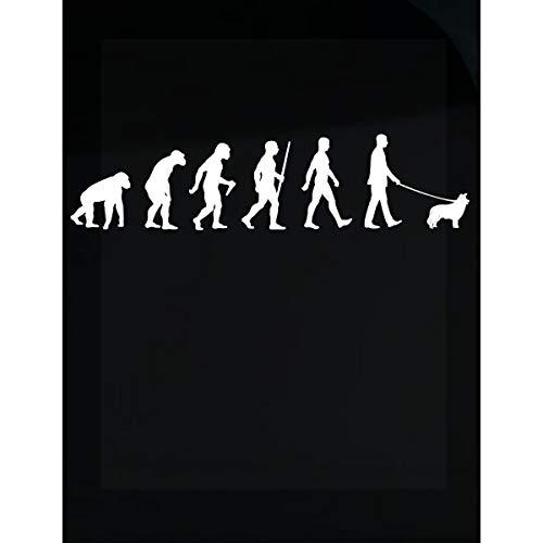 Inked Creatively Evolution Scotch Collie Walker - Sticker
