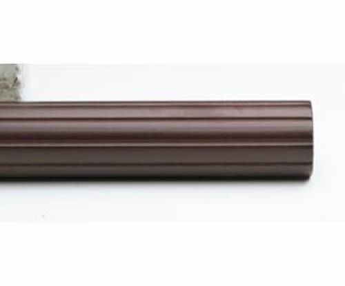 Kirsch Wood Trends Classics Fluted 1 3/8'' Drapery Pole, Mahogany 8 FT (MPN# 56008G083)