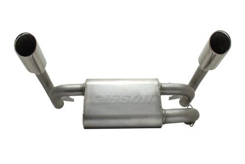 Gibson 98016 Stainless Steel Exhaust System for (1 Gibson Exhaust Tip)