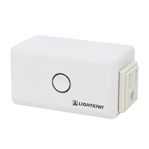 Lightkiwi E2683 WiFi Smart Plug for Low Voltage Landscape Lighting Transformer