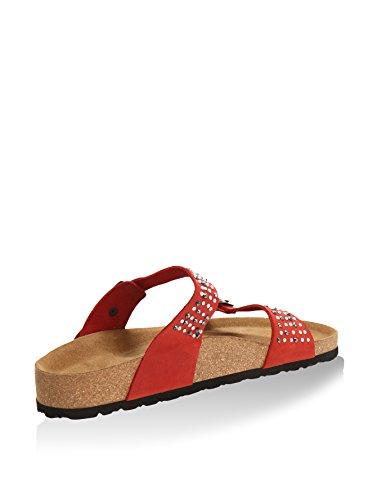 Comfortfüße Pantolette Etzel rot EU 40