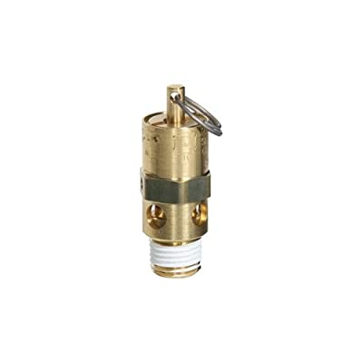 """Midwest Control SRH25-110 ASME Hard Seat Safety Valve, 110 psi, -65 Degree F - 400 Degree F Temperature Range, 1/4"""" from Midwest Control"""
