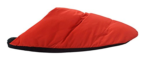 Mwfus Heren & Dames Premium Indoor Huis Winter Katoenen Slipper Rood