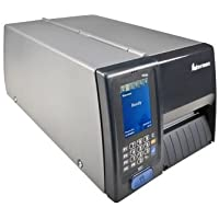 Intermec PM43CA0100000211 Series PM43C Mid-Range Industrial Label Printer, Icon Interface, Serial, USB, Ethernet, LAN, Long Door, Fixed Hanger, 200+Dt, NA Power Cord