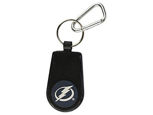 NHL Tampa Bay Lightning Classic Hockey Keychain, One Size, Black