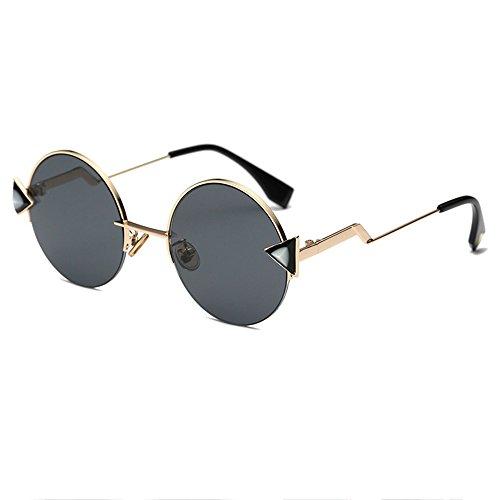 De La Rayos UV Los De A Hombre De Moda Gafas De Calle Sol Señoras Black Black Resistentes Gafas Sol qZpw60
