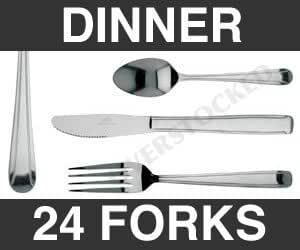 Wholesale 2 Dozen Dominion Dinner Fork Kitchen Dining