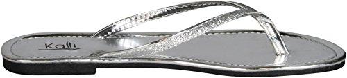 Kali Silver Footwear Flip Focus Glitter Women's Flops FOPq1w6F