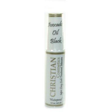 Avocado Oil Wholesale - CHRISTIAN SUPER LONG LASH TREATMENT MASCARA Waterproof AVOCADO OIL BLACK .43 oz…