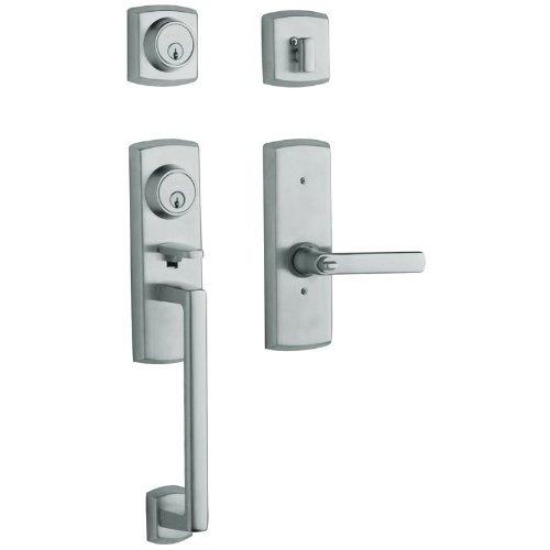 Baldwin 85385.260.2RH Soho Two Point Lock Right Hand Handleset with Soho Lever, Chrome