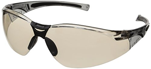 Honeywell A804 A800 Series Eyewear, I/O Silver Mirror Lens, Anti-Scratch Coating (Pack of 10)